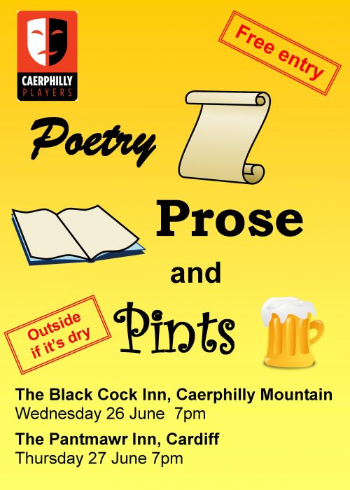 Poetry Prose and Pints poster